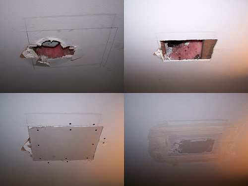 How To Install Drywall Patch